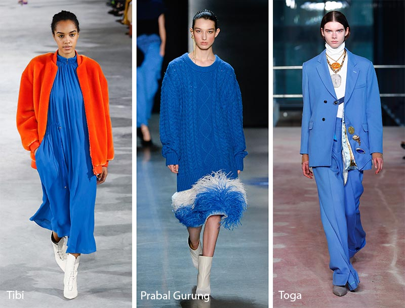 Fall Winter 2018 2019 Color Trends Fall 2018 Runway Colors Glowsly