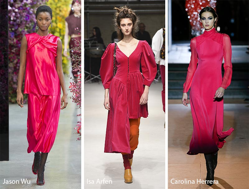 1b2b7ba650 Fall  Winter 2018-2019 Color Trends - Fall 2018 Runway Colors - Glowsly