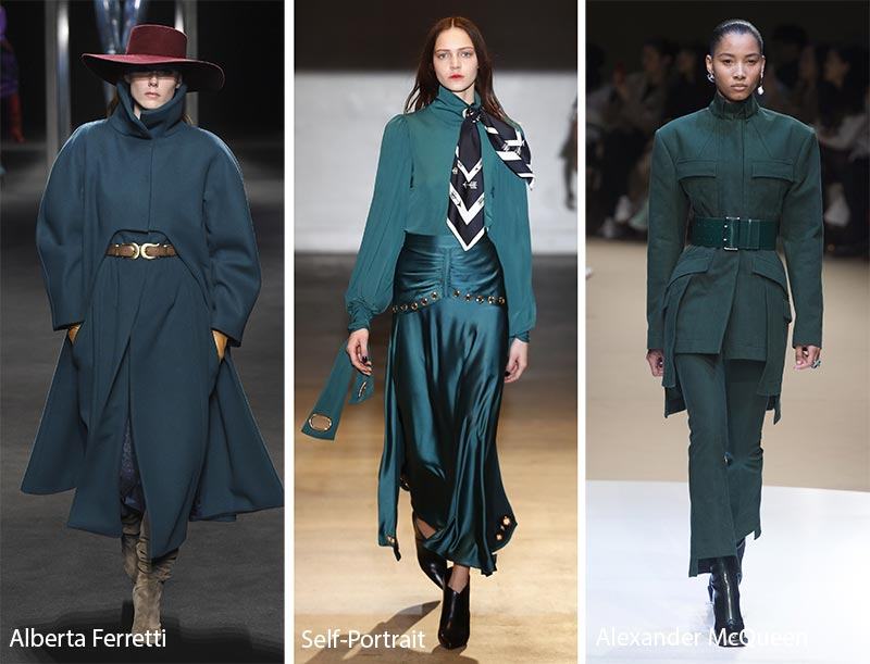 Fall/ Winter 2018-2019 Color Trends: Quetzal Green