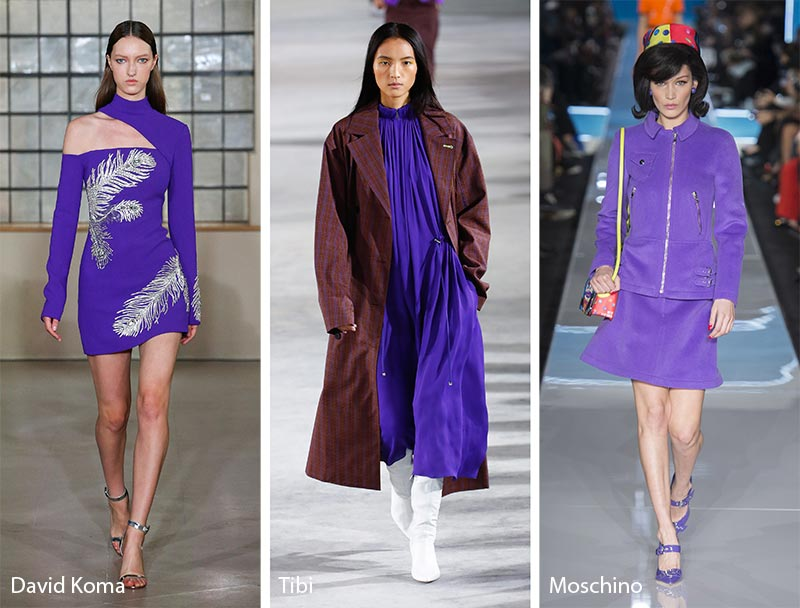 Fall/ Winter 2018-2019 Color Trends: Ultra Violet