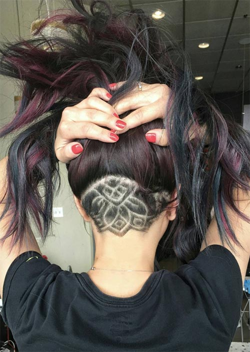 54 badass undercut hair tattoos for women in 2019 glowsly