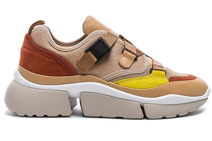 On-Trend Dad/ Chunky Ugly Sneakers for Women: Chloe Sonnie Sneakers