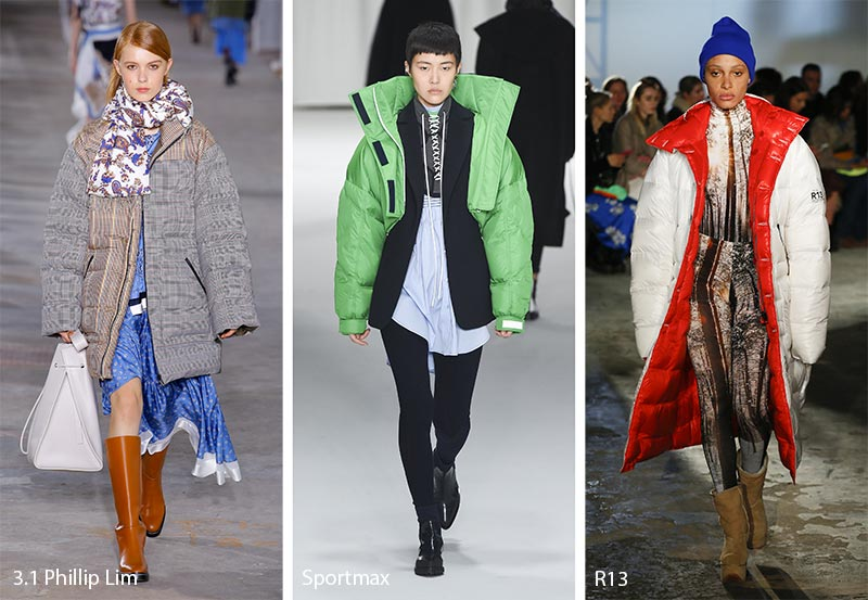 Fall/ Winter 2018-2019 Fashion Trends: Puffer Coats & Jackets