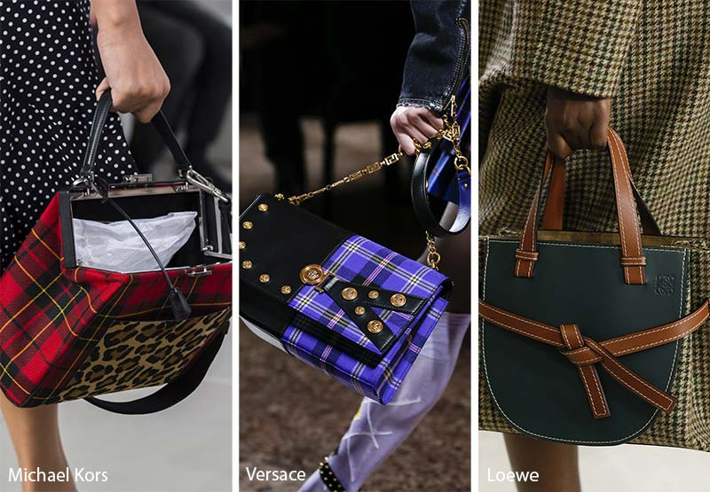 Fall/ Winter 2018-2019 Handbag Trends: Tartan Bags & Purses