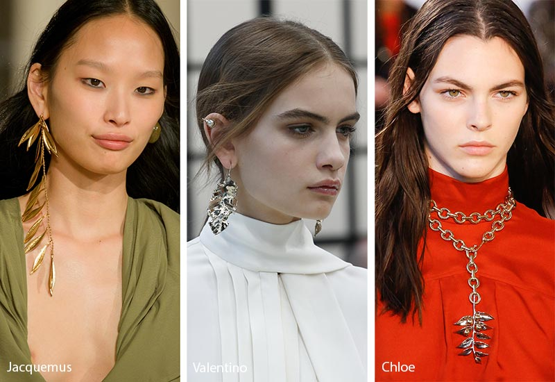 Fall/ Winter 2018-2019 Jewelry Trends: Leaves-Shaped Jewelry