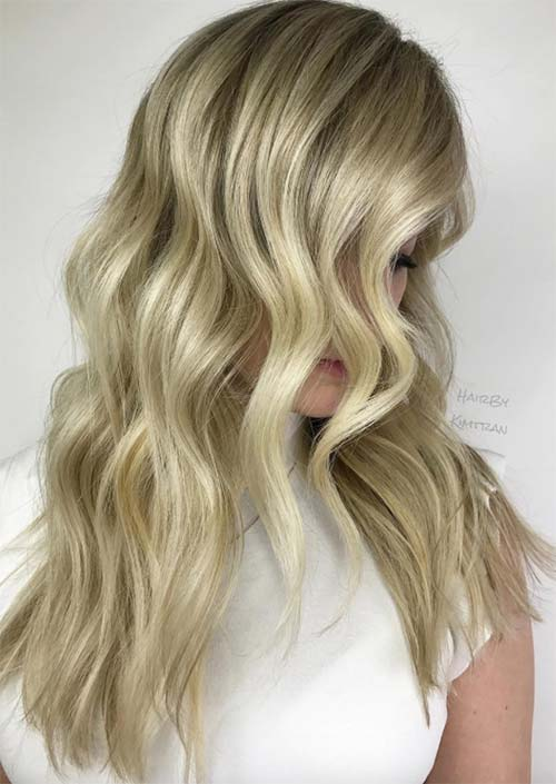 Spring Hair Colors Ideas & Trends: Buttery Blonde Hair