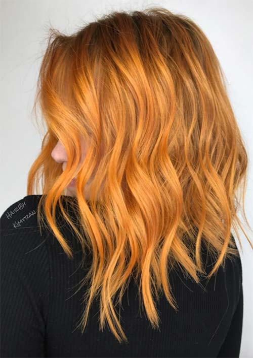 Spring Hair Colors Ideas & Trends: Fire Copper Hair
