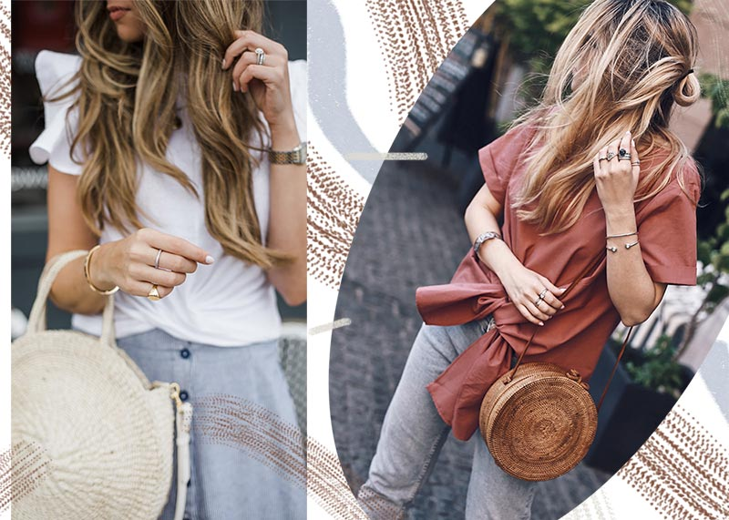 Summer Straw Bags: Basket Bag Trend