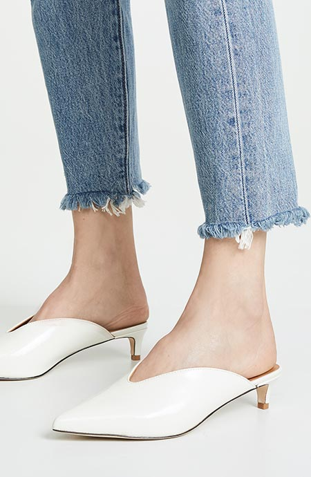 ec4c55f7d1a 15 Chic (Flat & Heeled) Mules for Spring 2019: How to Wear Mules In ...