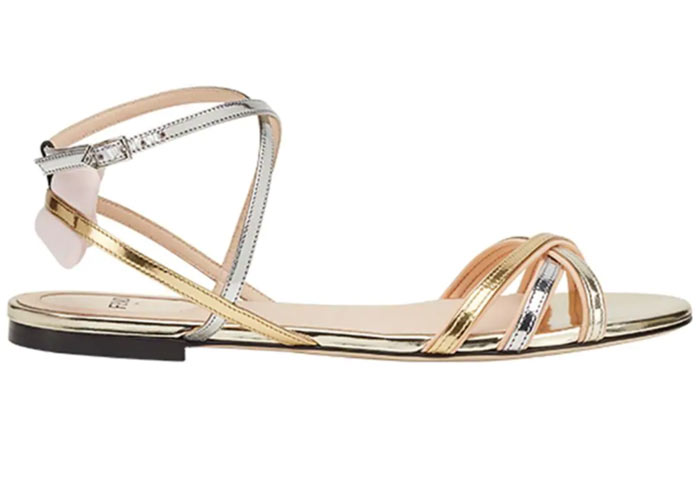 Best Summer Flat Sandals for Women: Fendi Flat Sandals