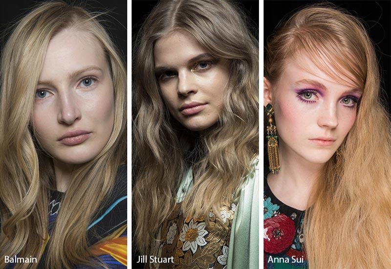 Fall/ Winter 2018-2019 Hair Color Trends: Dirty Blonde Hair