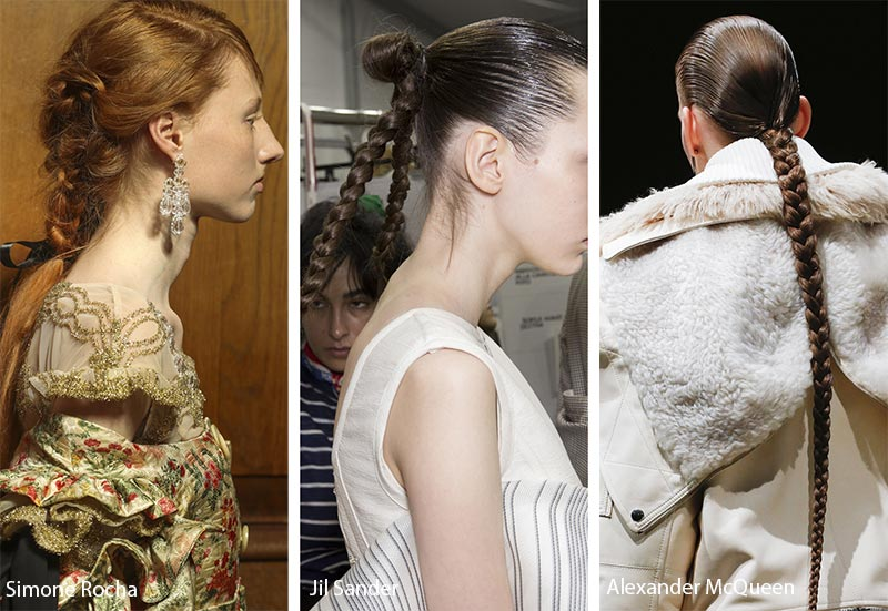 Fall Winter 2018 2019 Hairstyle Trends