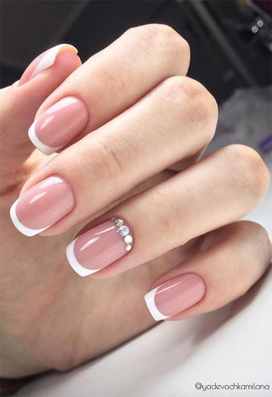 27 fresh french nail designs how to do french manicure at home