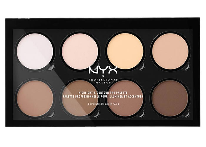 Best Contouring Kits, Palettes & Makeup Products: NYX Professional Makeup Highlight & Contour Pro Palette