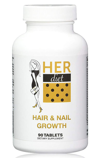 Best Nail Growth Vitamins & Supplements: HERdiet Hair & Nail Growth Supplements