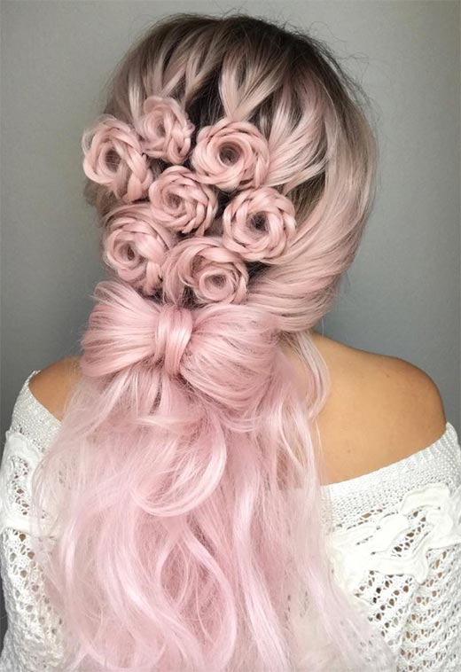 braiding styles for long hair 57 amazing braided hairstyles for hair for every 4344 | long hair braids braided hairstyles for long hair floral braided semi updo19