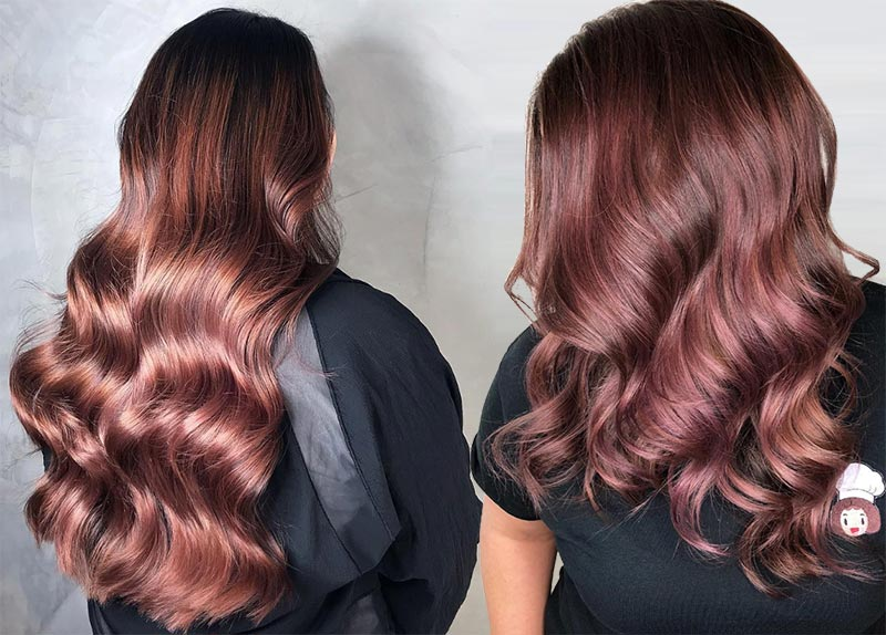 Rose Brown Hair Trend: 23 Magical Rose Brown Hair Colors ...