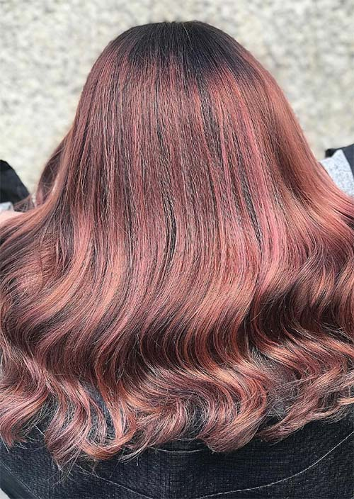 rose brown hair trend 23 magical rose brown hair colors