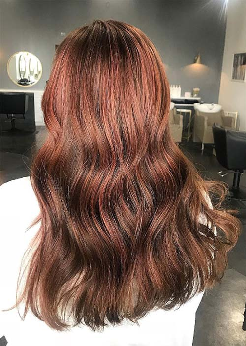 Rose Brown Hair Trend 23 Magical Rose Brown Hair Colors To Try
