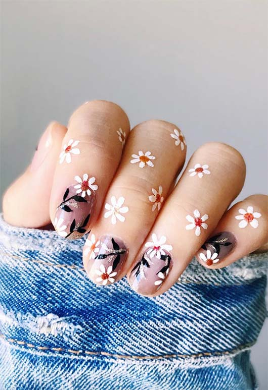 65 Awe-Inspiring Nail Designs for Short Nails - Short Nail Art Designs