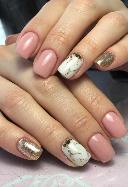 65 Awe Inspiring Nail Designs For Short Nails Short Nail Art