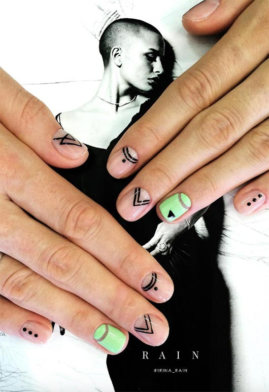 65 Awe,Inspiring Nail Designs for Short Nails , Short Nail