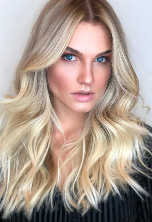 Summer Hair Colors Ideas & Trends: Cool Blonde Hair Color