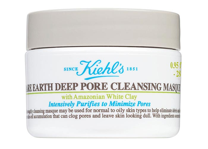 Best Bentonite Clay Masks: Kiehl's Since 1851 'Rare Earth' Deep Pore Cleansing Masque