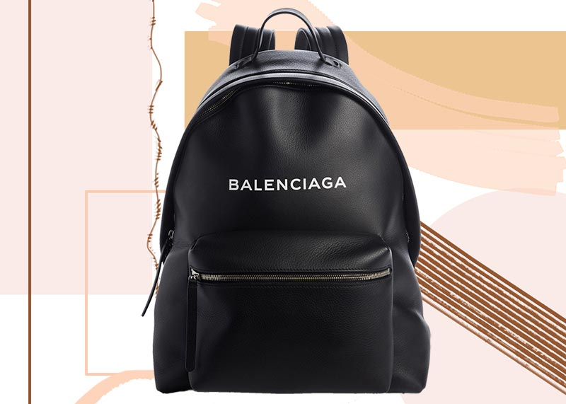 Best Designer Backpacks for Women: Balenciaga Everyday Calfskin Backpack