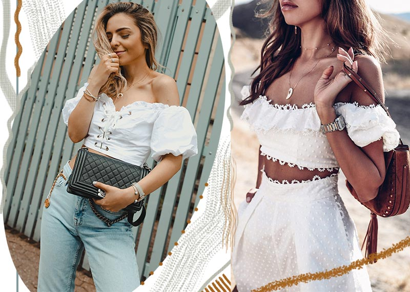 Best Off-the-Shoulder Tops/ Shirts/ Blouses for Women
