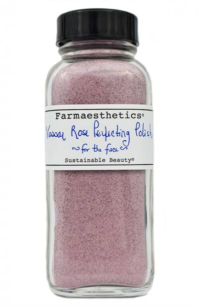 Best Powder Cleansers & Dry Scrubs: Farmaesthetics Vassar Rose Perfecting Polish