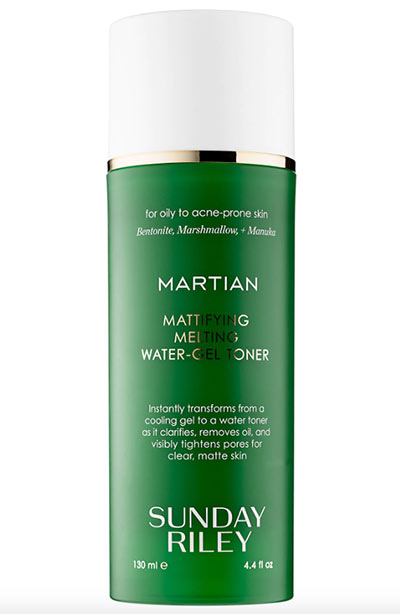 Best Witch Hazel Toners & Other Skin Products: Sunday Riley Martian Mattifying Melting Water-Gel Toner