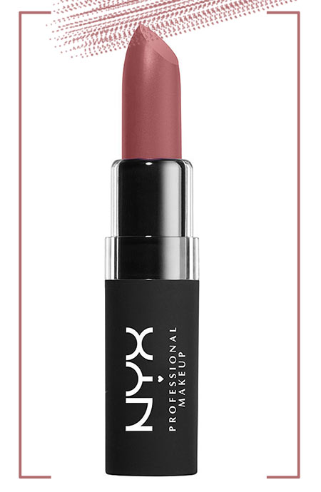 Best NYX Lipsticks Colors: NYX Velvet Matte Lipstick in Soft Femme