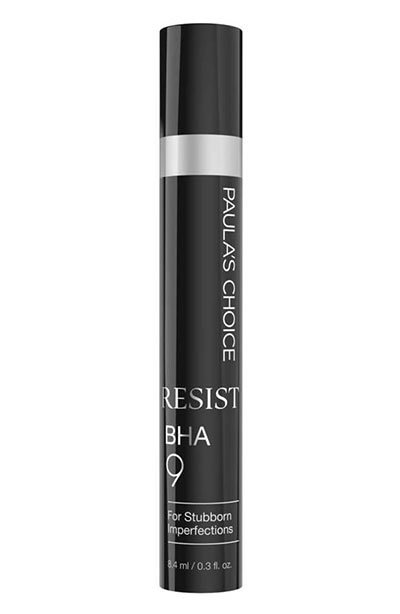 Best Acne Spot Treatments to Get Rid of Pimples: Paula's Choice Resist BHA 9 for Stubborn Imperfections