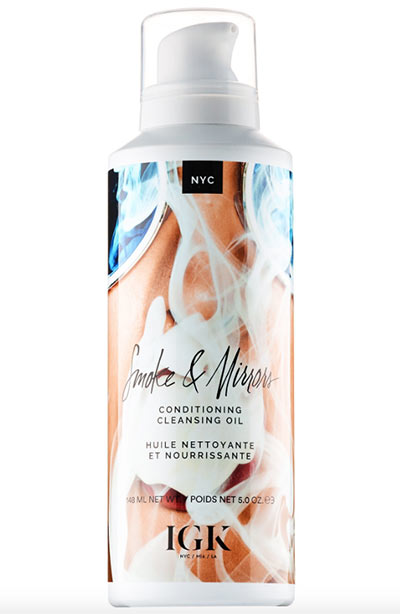 Cleansing Oil Shampoos for Oil-Washing Hair: IGK Smoke & Mirrors Conditioning Cleansing Oil