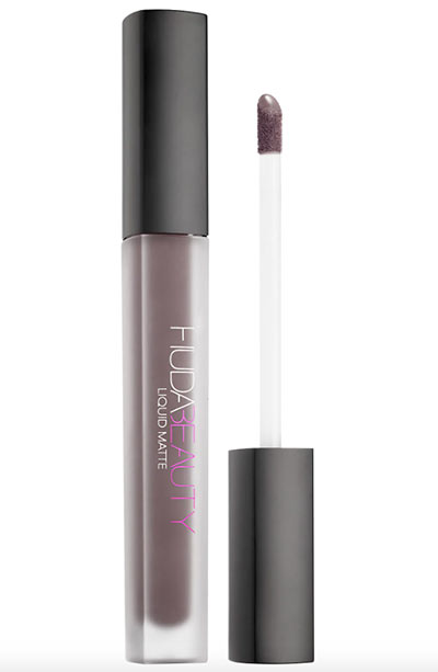 Best Fall Lipstick Colors: Huda Beauty Fall Lip Color in Silver Fox