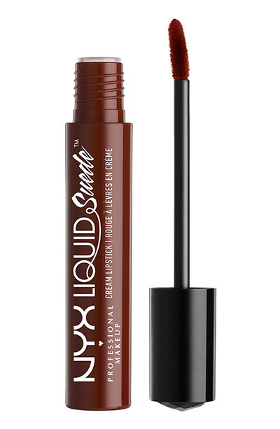 Best Fall Lipstick Colors: NYX Fall Lip Color in Club Hopper