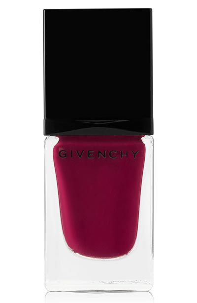 Best Fall Nail Colors: Givenchy Fall Nail Polish Color in Framboise Velours