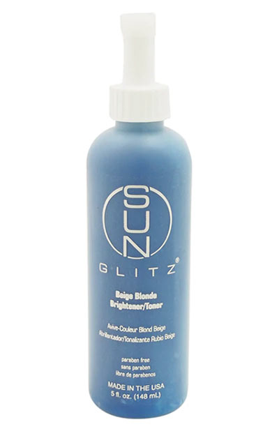 Best Hair Toners for Colored Hair: SunGlitz Beige Blonde Brightener/ Toner