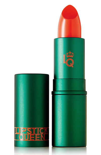 Best Orange Lipstick Shades: Lipstick Queen Orange Lipstick in Jungle Queen