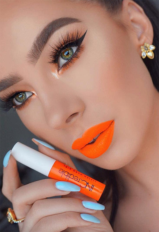 20 Best Orange Lipstick Shades For Every Skin Tone Glowsly