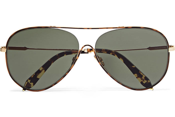 Best Aviator Sunglasses for Women: Victoria Beckham Loop Aviators