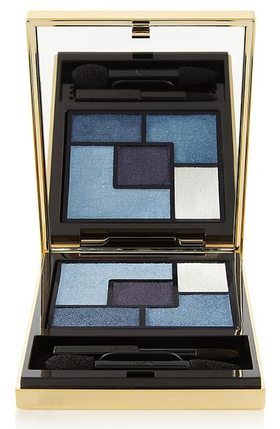 Best Blue Eyeshadow Colors: YSL Couture Eyeshadow Palette in 6 Rive Gauche