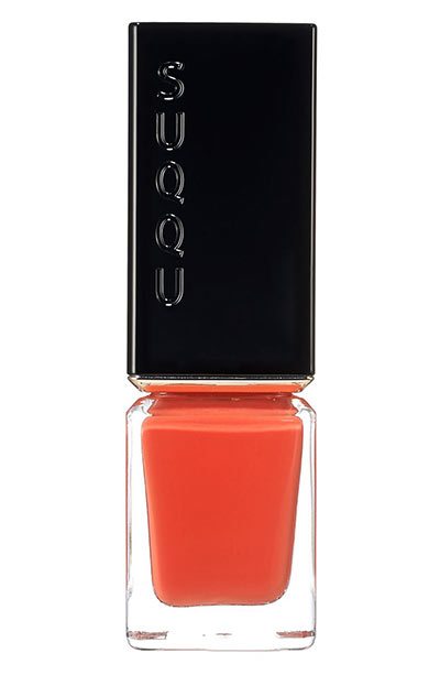 Best Orange Nail Polish Colors: Suqqu Orange Nail Polish in 104