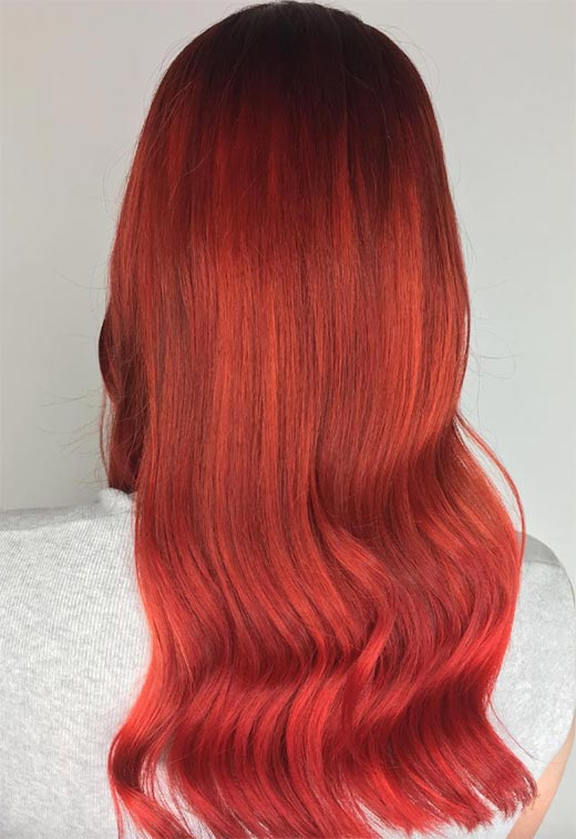 Tips for Maintaining Your Red Hair Color