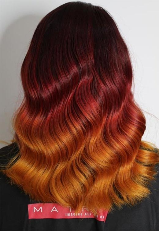 Red Hair Color Shades: Red Hair Dye Tips & Ideas