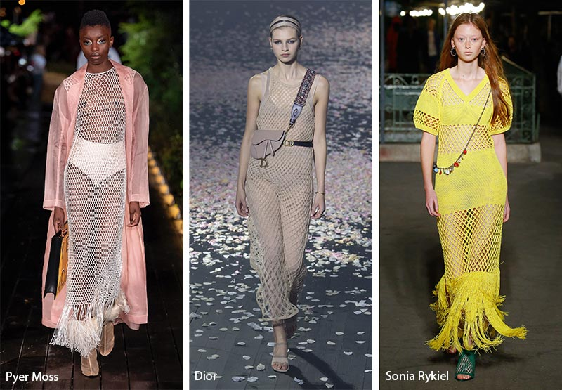 Spring/ Summer 2019 Fashion Trends: Boho Fishnets Netting