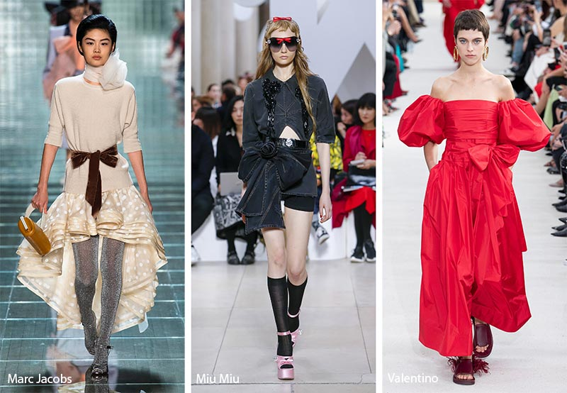 Spring/ Summer 2019 Fashion Trends: Spring 2019 Runway Trends