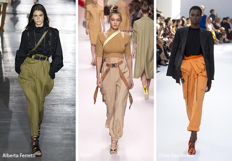 Spring/ Summer 2019 Fashion Trends: Cargo Pants