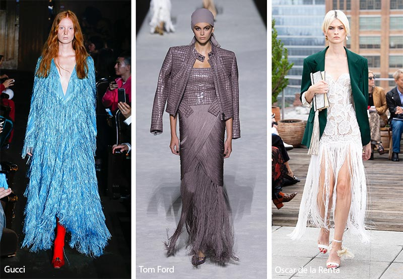 Spring/ Summer 2019 Fashion Trends: Fringes